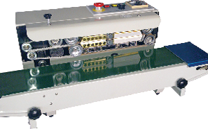 Horizontal continuous band sealer specification